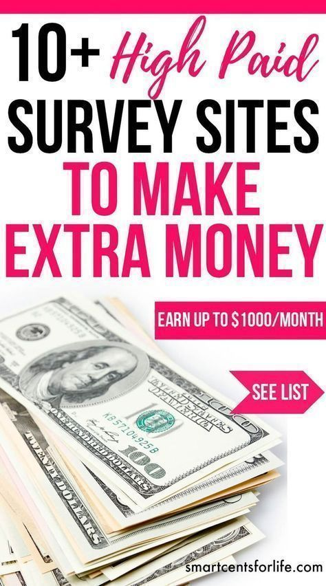 Over 10 high pay survey sites to make $1000 per month of extra income. Ideal for moms, college students or anyone who wants to earn extra money working from home or anywhere! extra income   earn money   stay at home jobs   stay at home mom jobs  survey fo