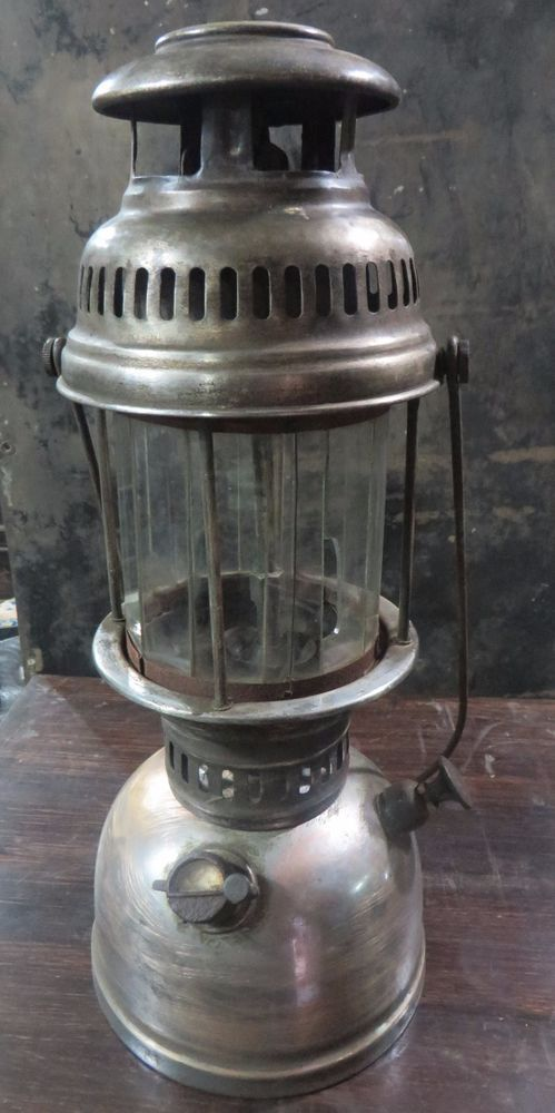 John Son Brand Vintage Pressure Lateran Lamp 500CP Made in Germany ? (Petromax)