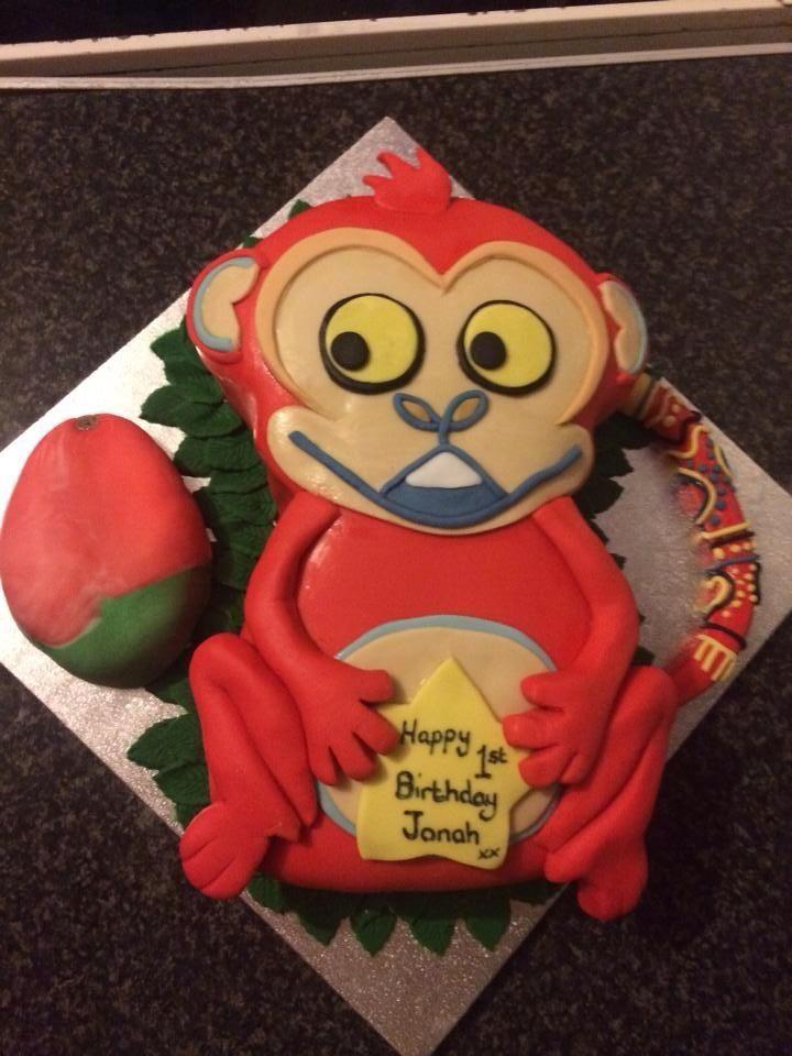 Tinga tinga tales monkey cake