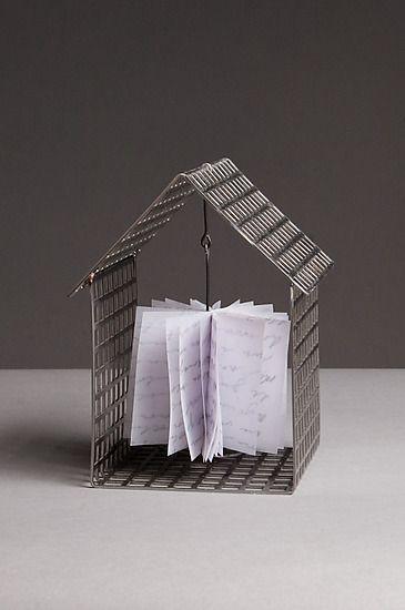 House with Prayer Wheel: Julie Girardini, Ken Girardini: Metal Sculpture | Artful Home