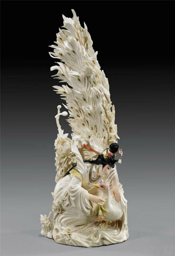 SCULPTURI ÎN FILDEȘ. Figurine din Japonia și China