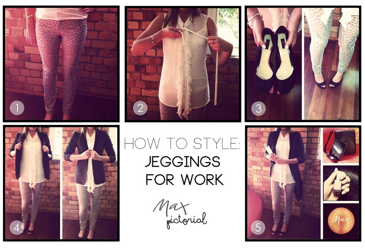 Max Pictorial... How to Wear Jeggings www.maxshop.com