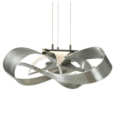 Hubbardton forge flux pendant in vintage platinum find this pin and more on lighting