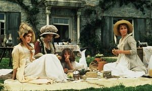 The Dashwoods (from left): Kate Winslet, Gemma Jones, Emilie François and Emma Thompson, in Sense and Sensibility, directed by Ang Lee (1995),