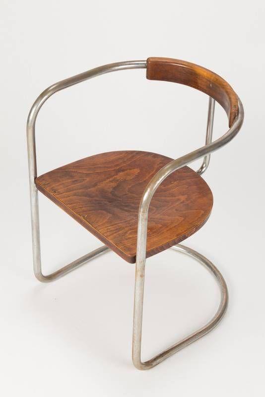 Bauhaus Steel Tube Cantilever Chair 30's