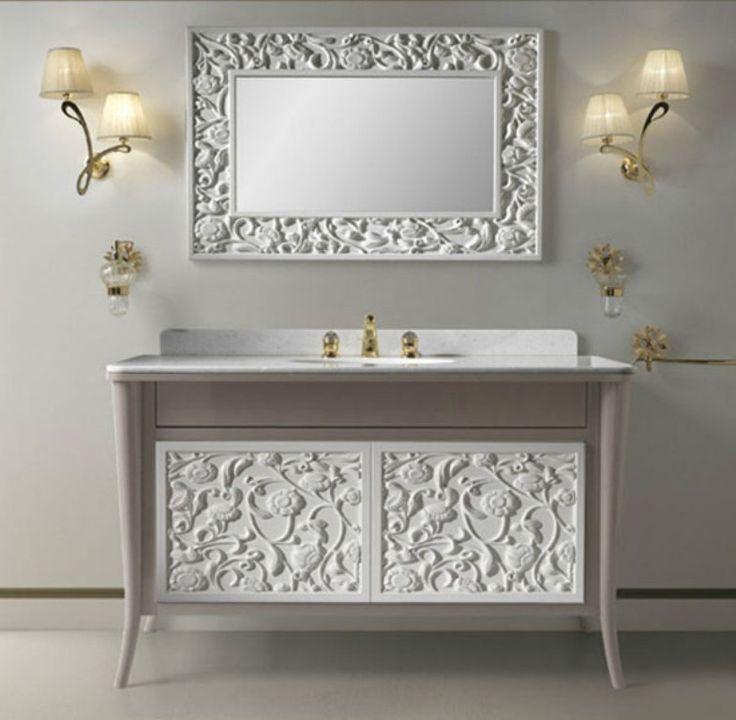50+ Charming & Fabulous Bathroom Mirror Designs 2019