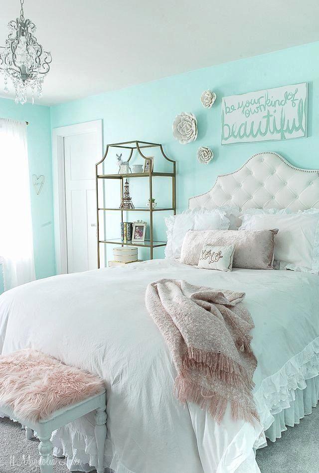 Tiffany Blue Teenage Bedroom Best Of Tween Room Decor Aqua Blue Rose Gold Pinks With White Tween Girls Room Tween Girl Bedroom Tween Room