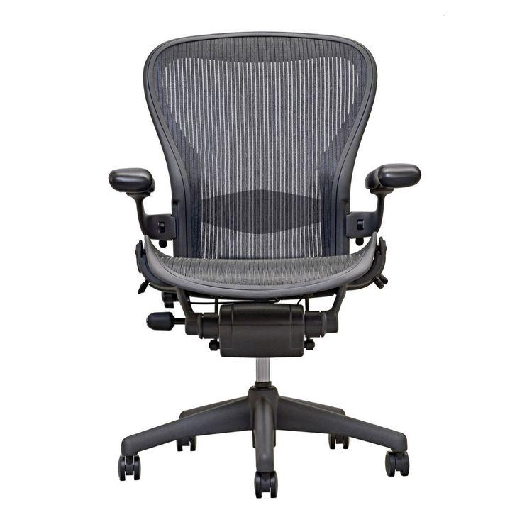 Aeron gray size b lumbar 3 function task chair best