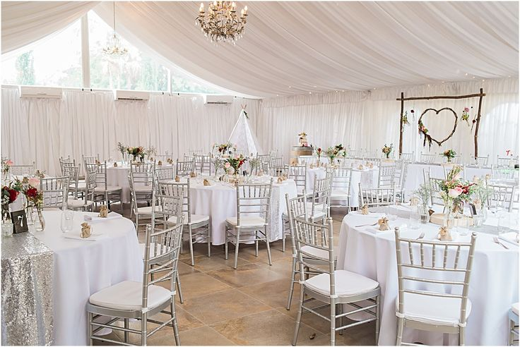 Braeside Chapel Wedding StylingLoving this rustic glam wedding in the Braeside Marquee #wedding #styling #braeside #marquee #rustic #glam #rustic #backdrop #silver #sequins