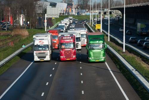Frans verzet EU-wet vrachtwagenchauffeurs