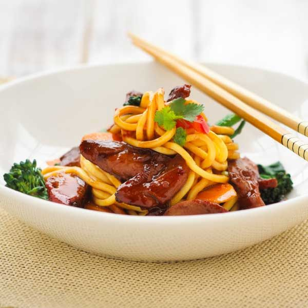 Best Chinese Duck Recipes: Stir Fry Peking Duck With Noodles