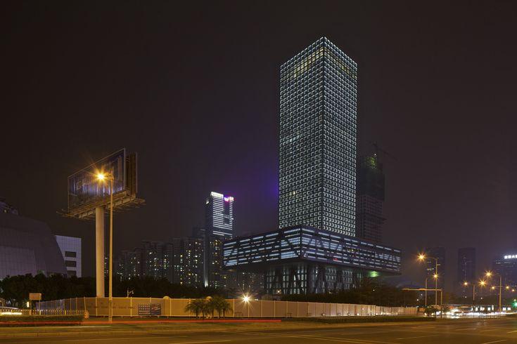 Shenzhen Stock Exchange HQ,© Philippe Ruault