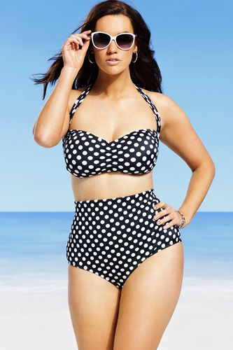 The Plus-Size Bikini You've Been Waiting For Is Back — Finally! #refinery29  http://www.refinery29.com/swimsuits-for-all#slide4