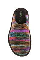Rohde 2275 Ladies Multicoloured Mule Slipper - Robin Elt Shoes