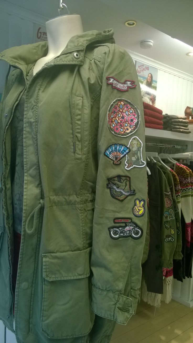 Parka military jacket by Odd Molly, its the attention to the little things that make the difference!