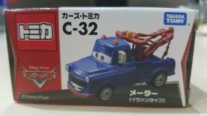 Tomica C-32 Cars Mater blue