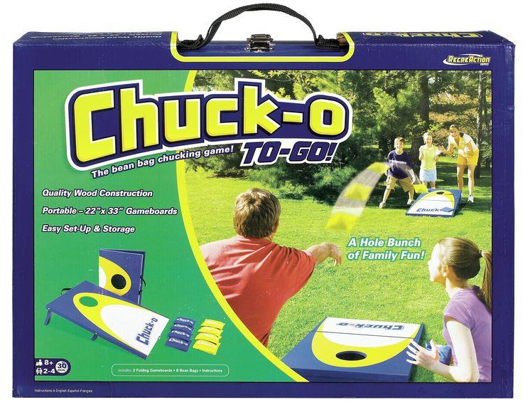 Chuck-O To Go Classic Bean Bag Toss Game