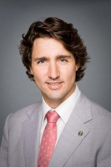 Justin Trudeau. Yes, world, this is our sexy ass PM.