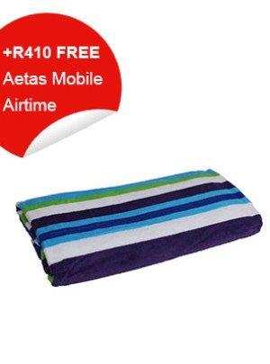 Beach Towel (Red & Blue)