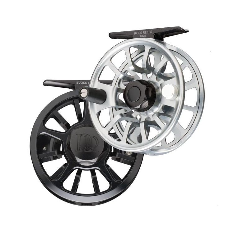 Fly Fishing Accessories 87098: Ross Evolution Lt Fishing Reel Size 1.5, 2, 3 Or 4 Black Or Platinum -> BUY IT NOW ONLY: $335 on eBay!