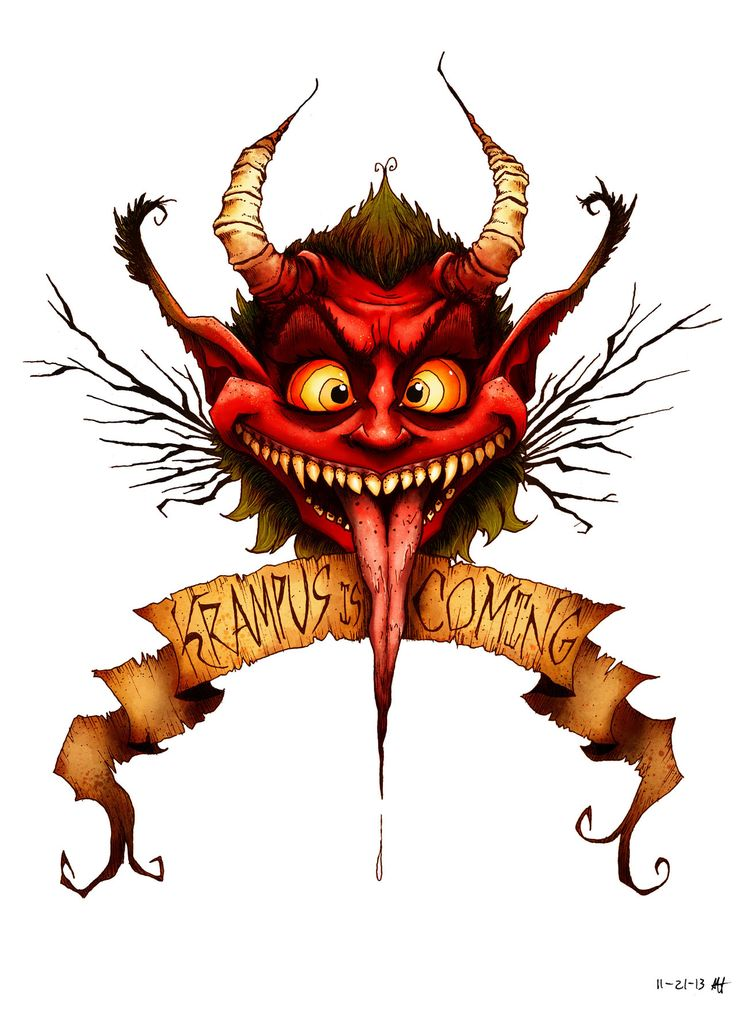 Krampus is Coming by croonstreet.deviantart.com on @deviantART