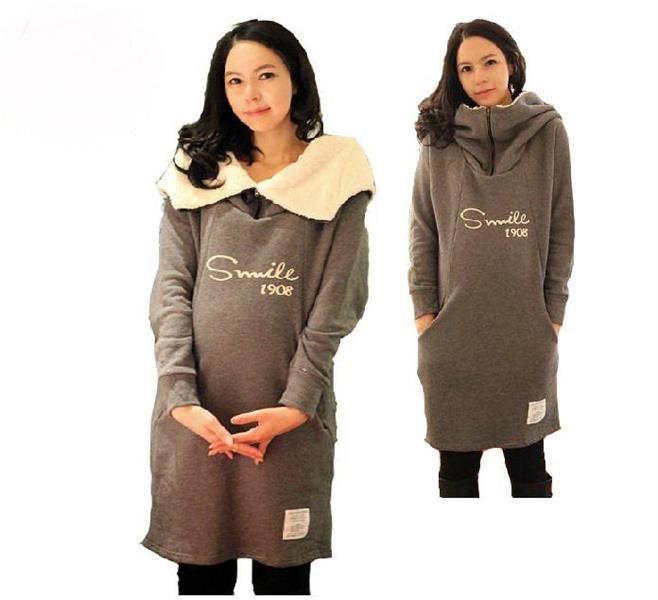 Зимнее пальто зимняя одежда для беременных
