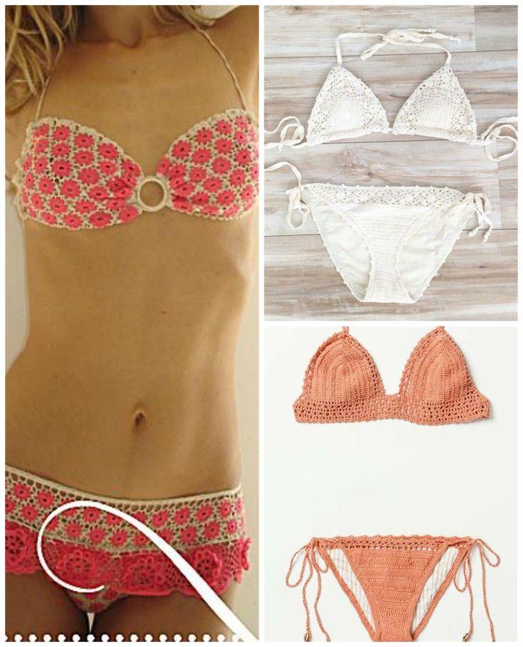 14 besten Bikinis ganchillo Bilder auf Pinterest | Häkeln, Stricken ...