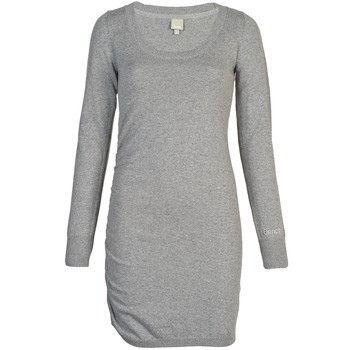 Vestido básico gris