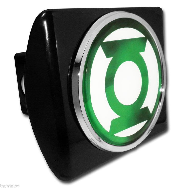 Green Lantern hitch cover