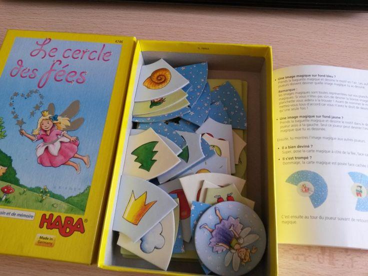 Le jeu du Cercle des fées (Haba) à associer au jeu des lettres dans le dos pour des moments de complicité, de partage, de massage, d'apprentissage informel et de travail kinesthétique.
