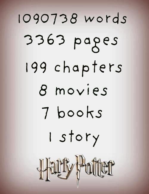 Harry Potter Book Word Count : Best harry potter images on pinterest books