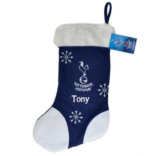 Personalised Tottenham Hotspur Christmas Stocking