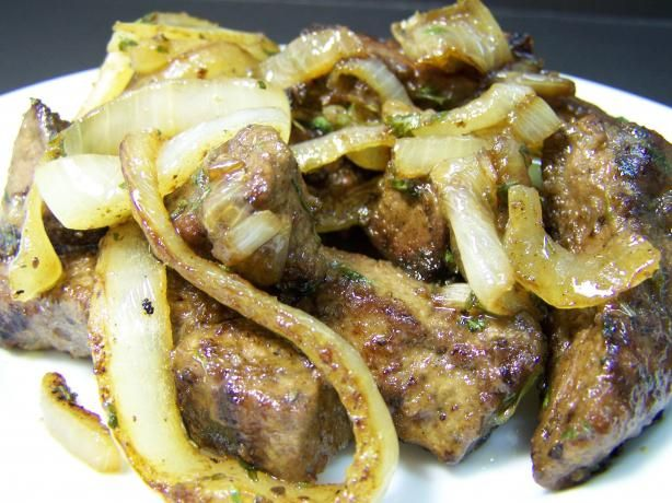 Calf Liver and Onions