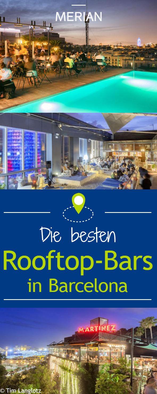 Entdecken Sie die schönsten Rooftop-Bars Barcelonas