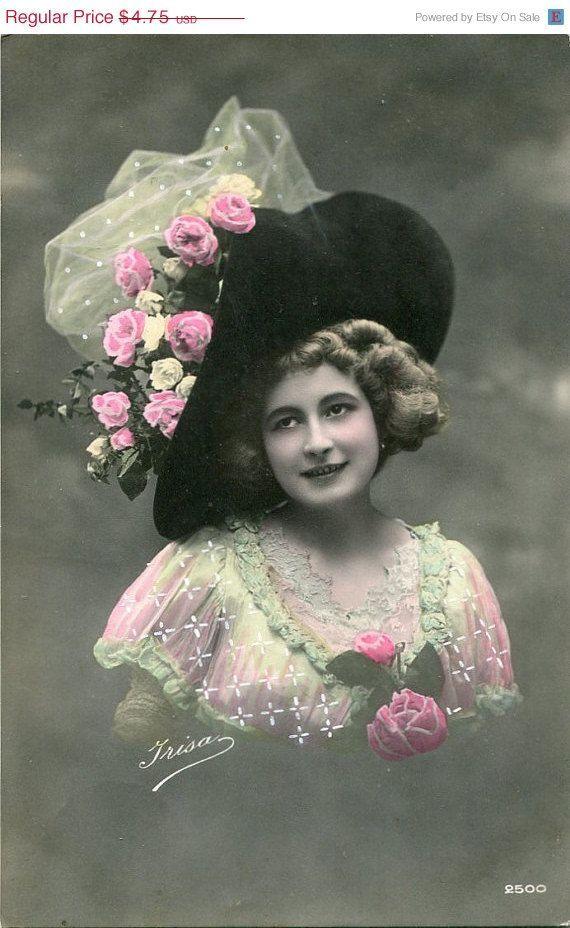 Старинные французские открытки фото