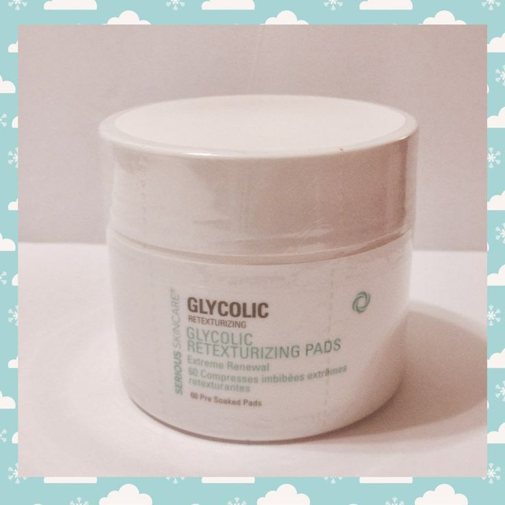 New Serious Skincare Glycolic Pads 60 Ct Mercari Buy Sell Things You Love Skin Care Facial Care Things To Sell