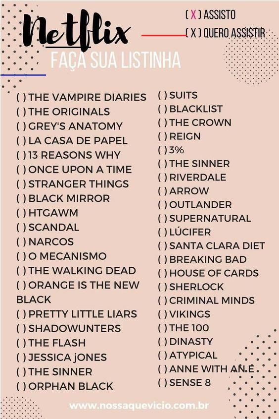 Netflix Filmliste