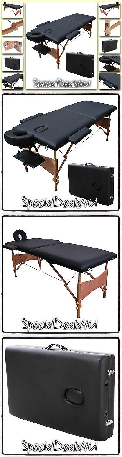 Massage Tables and Chairs: Massage Table Portable Bed Tattoo Tables Facial Spa Carry Case 84 W L Chair Pad -> BUY IT NOW ONLY: $104.95 on eBay!