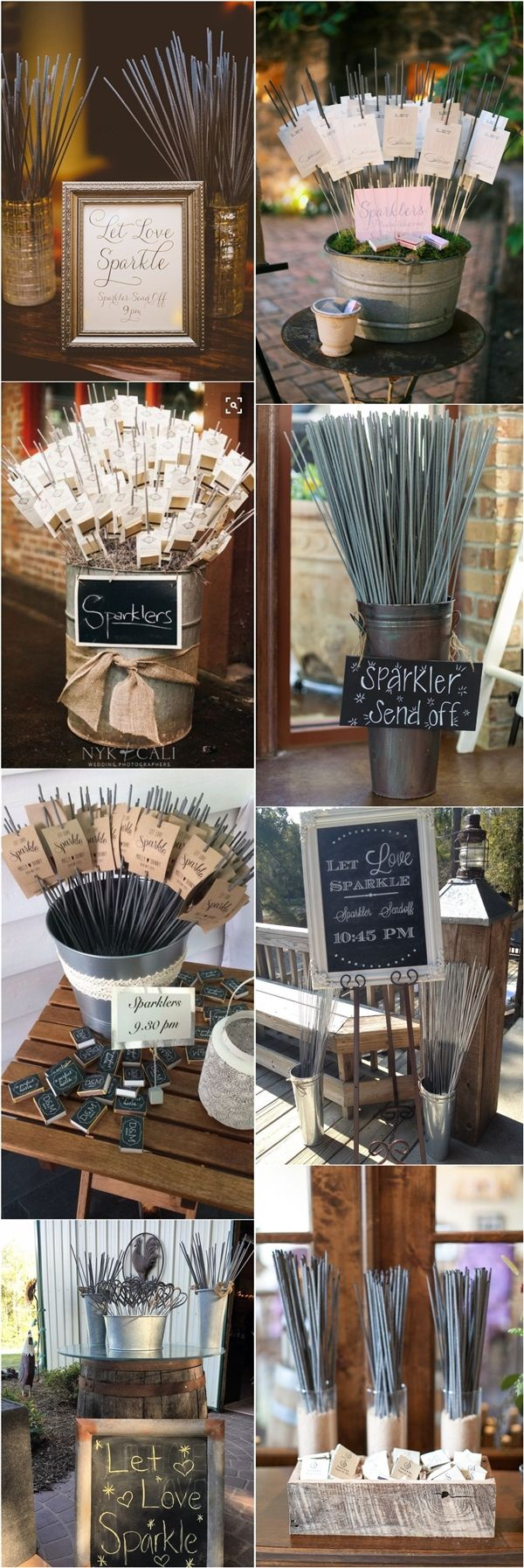 Top 20 Wedding Sparkler Send Off Ideas