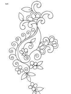 Resultado de imagen de indian embroidery patterns