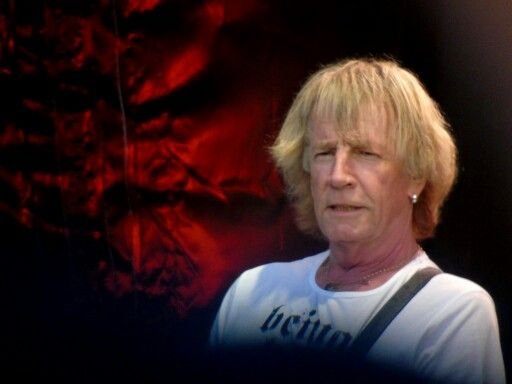My fav pic I took of rick parfitt at Hoghton Tower.