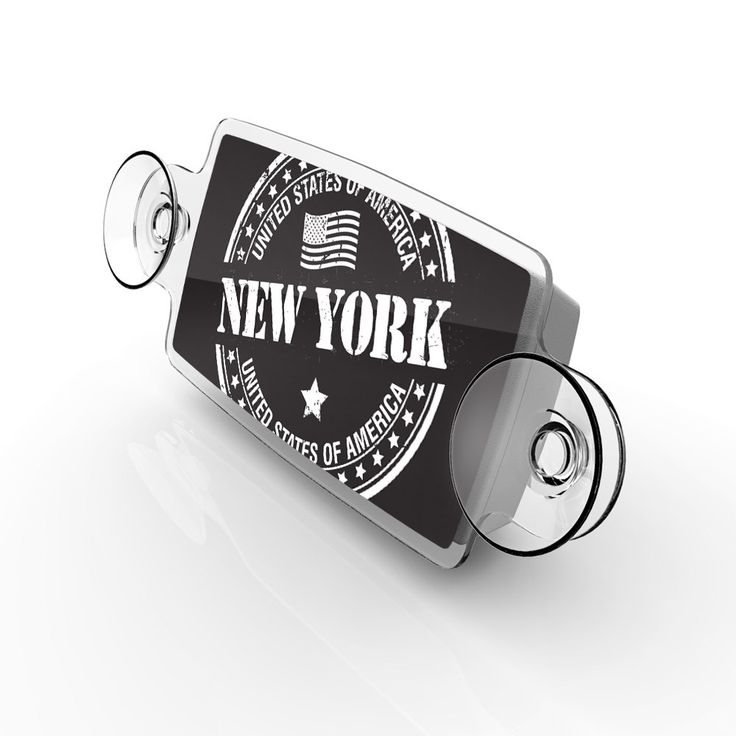 Small Toll Pass / EZ Pass / Transponder Holder - New York State