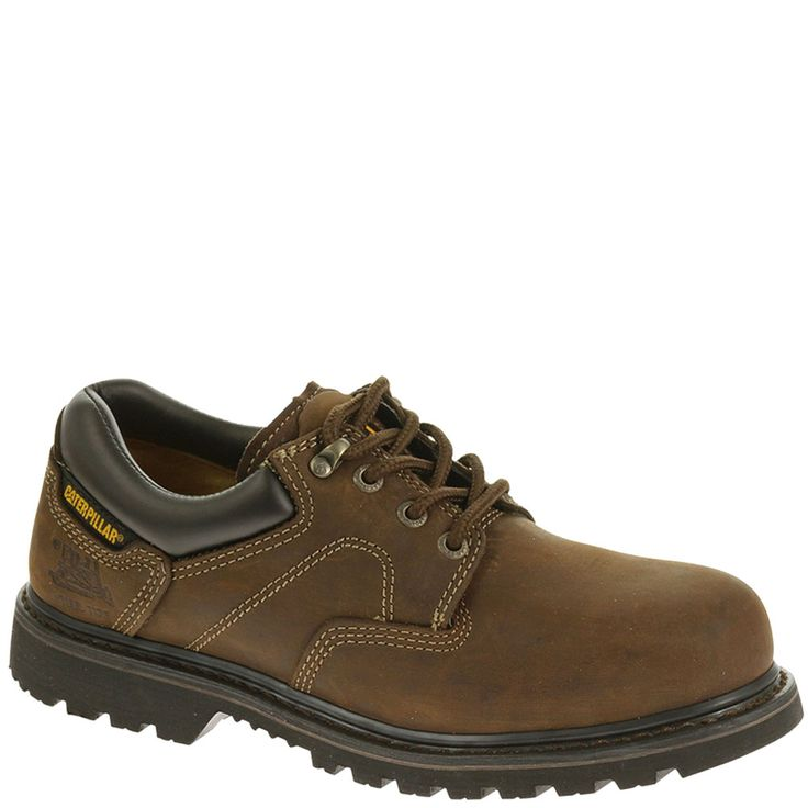 89702 Caterpillar Men's Ridgemont EH Safety Shoes - Dark Brown