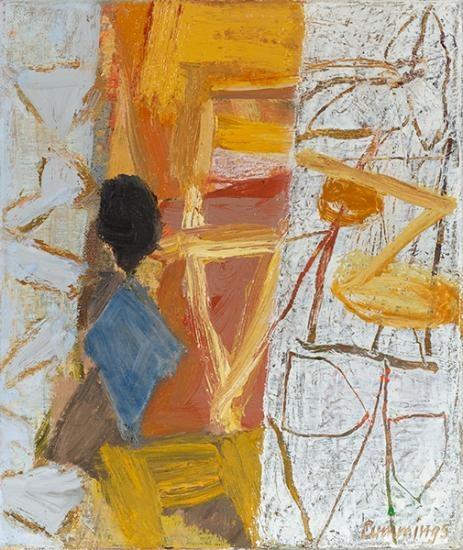 Elisabeth Cummings, Yellow Room, 2008