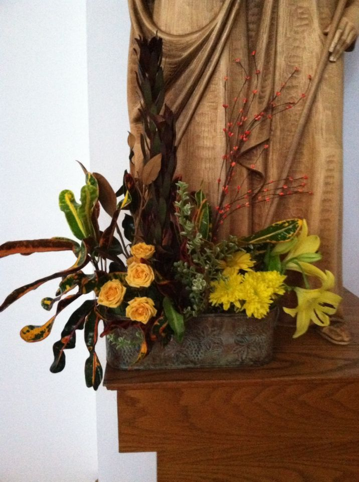 ... about Fall church decorations on Pinterest   Church, Altars and Choirs