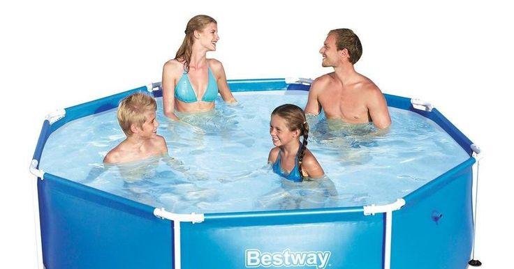 Por qué debemos comprar una piscina desmontable y cómo mantenerla en PERFECTAS condiciones