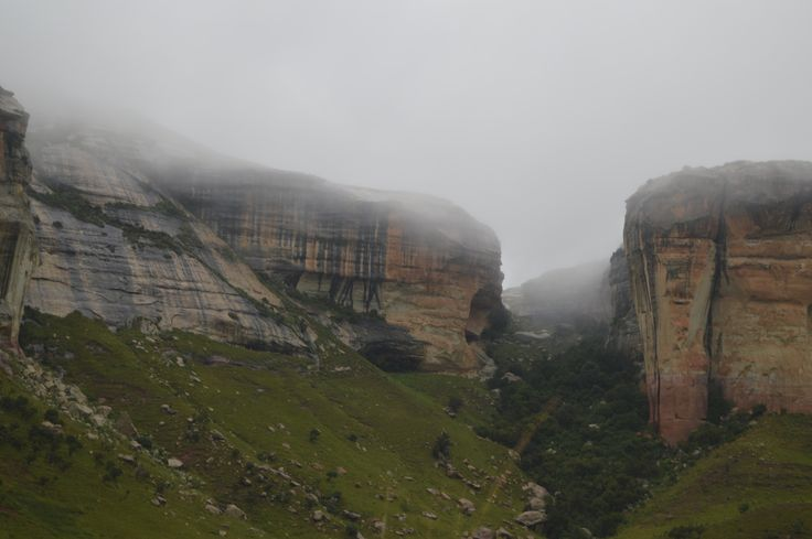 Golden Gate Highlands park in the Free State