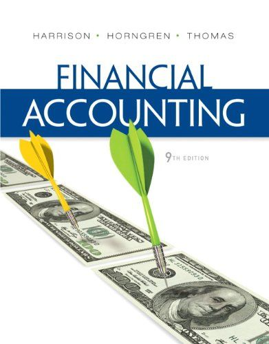 I'm selling Financial Accounting (9th Edition) by Walter T. Harrison Jr., Charles T. Horngren and C. William R. - $25.00 #onselz