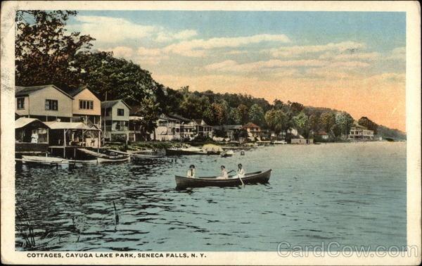 Cottages cayuga lake park seneca falls new york finger for Seneca lake ny cabins
