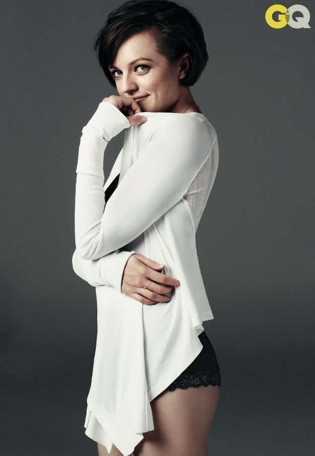 Elisabeth Moss Looks Fantastic In GQ